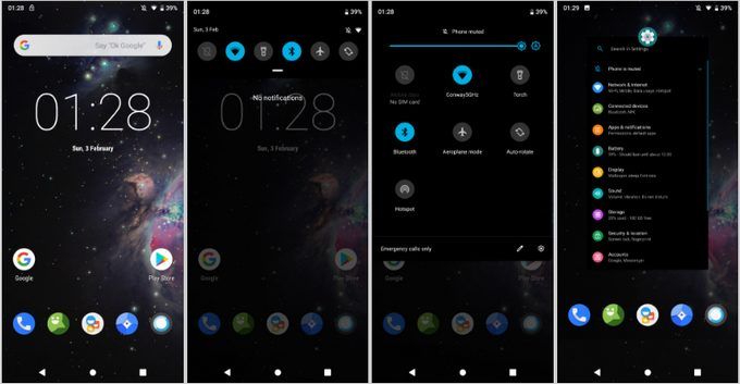 Best Custom ROMs LineageOS 16 UI