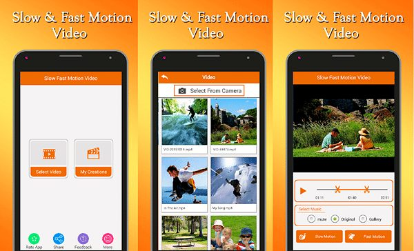 Best Slow Motion Apps fast slow motion video tool
