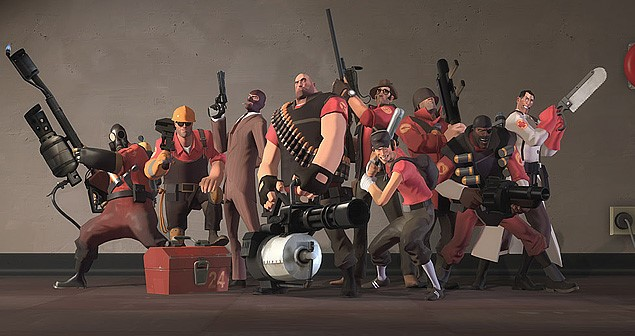 similar games Team fortress 2